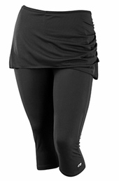 Plus Size Activewear Marika Curve Plus Alice Skirted Capri