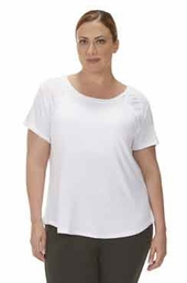 Plus Size Activewear Marika Curve Plus Ella Short Sleeve Tee