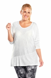 Plus Size Activewear Marika Curves Plus Mix Up Tunic