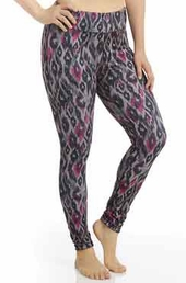 Plus Size Activewear Marika Curves Plus Uptown Reversible Leggings # MKB055FA $37.80