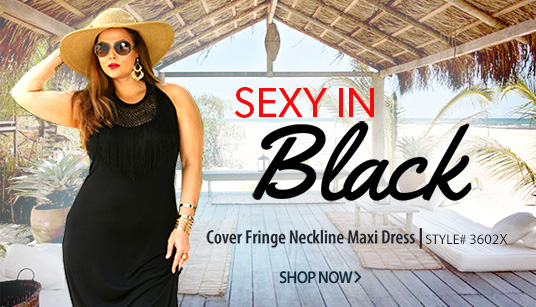 plus size beach cover-up