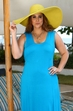 Plus Size Cover Ups Always For Me Cover Hourglass Jersey Dress