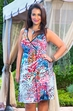 Women's Plus Size Cover Ups - Always For Me Cover Plumes Wrap Dress