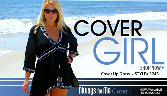 plus size womens cover up