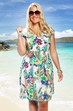 Plus Size Cover Ups Always For Me Cover Paisley Garden Dress