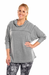 Plus Size Activewear Marika Curves Plus Montclare French Terry Hoodie