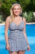 Plus Size Swimwear Always For Me Chic Prints Altamira Swim dress