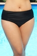 Women's Plus Size Swimwear - Always For Me Separates Ruched Brief