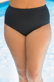 Plus Size Swimwear - Fit 4U Separates Swim Brief