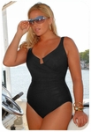 Women's Plus Size Swimwear - Miraclesuit Escape 1 Pc Underwire Swimsuit
