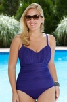Women's Plus Size Swimwear - Miraclesuit Rialto One Piece Swimsuit