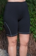 Plus Size Work Out - Always For Me Active Cotton Blend Bike Shorts