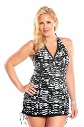 Always For Me Maraba Plus Size Swimdress