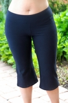 Women's Plus Size Activewear - Always For Me Active Capri Cotton Pant