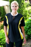 Women's Plus Size Activewear - Always For Me Active Color Block Jersey