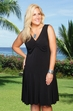 Women's Plus Size Cover Ups - Always For Me Cover Flirty Black Dress