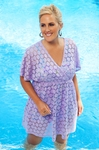 Women's Plus Size Cover Ups - Always For Me Cover Maui Tunic #7008X - NO RETURN