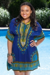 Women's Plus Size Cover Ups - Always For Me Cover Santa Fe Tunic