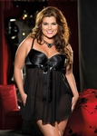 Women's Plus Size Lingerie - Satin & Chiffon Underwire Baby Doll