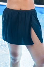 Women's Plus Size Swimwear - Christina Separates Skirted Bottom w/ Brief - NO RETURNS