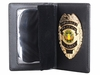 Concealed Carry Badge and Wallet Set