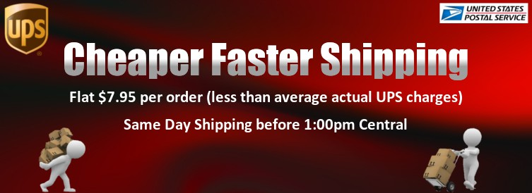 cheaper faster shipping