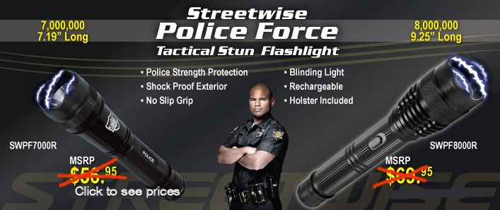 Police Force Stun Guns