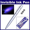 Invisible Ink Pen w UV Led Light