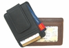 Leather Money Clip ID Holder