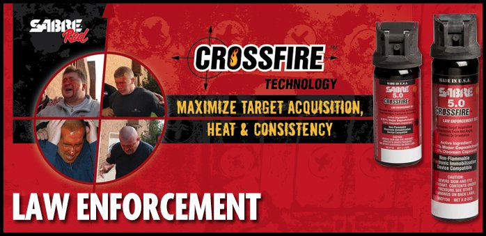 Sabre Crossfire Pepper Spray