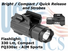 330 Lm Flashlight / Strobes