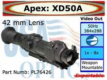 Apex 2-8x42 Thermal Scope