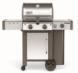 """60004001 52"""" Weber Genesis 2 LX S-240 Outdoor Liquid Propane Grill with High Performance Burners and Infinity Ignition  - Stainless Steel"""