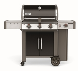 """61014001 59"""" Weber Genesis 2 LX E-340 Outdoor Liquid Propane Grill with High Performance Burners and Infinity Ignition  - Black"""