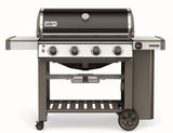 """62010001 61"""" Weber Genesis 2 E-410 Outdoor Liquid Propane Grill with 4 Stainless Steel Burners and Infinity Ignition  - Black"""