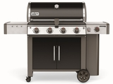 """62014001 65"""" Weber Genesis 2 LX E-440 Outdoor Liquid Propane Grill with High Performance Burners and Infinity Ignition  - Black"""