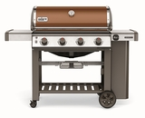 """62020001 61"""" Weber Genesis 2 E-410 Outdoor Liquid Propane Grill with 4 Stainless Steel Burners and Infinity Ignition  - Copper"""