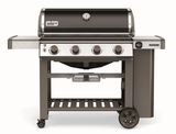 """62010001 61"""" Weber Genesis 2 E-410 Outdoor Liquid Propane Grill with 4 Stainless Steel Burners and Infinity Ignition  - Smoke"""