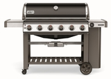 """63010001 68"""" Weber Genesis 2 E-610 Outdoor Liquid Propane Grill with 6 Stainless Steel Burners and Infinity Ignition  - Black"""