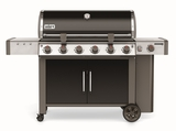 """63014001 72"""" Weber Genesis 2 LX E-640 Outdoor Liquid Propane Grill with High Performance Burners and Infinity Ignition  - Black"""