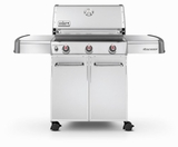 6550001 Weber Genesis S-310 Liquid Propane Grill - Stainless Steel