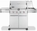 7120001 Weber Summit S-420 Outdoor Gas Grill - Liquid Propane - Stainless Steel