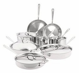 8400000256 All-Clad Stainless Steel 14-Piece Cookware Set