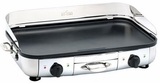 "99014GT All-Clad 20"" x 13"" Electric Griddle with Two Independent Adjustable Thermostats - Stainless Steel"