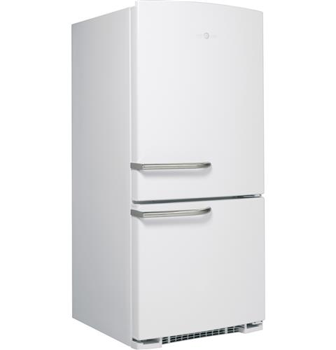 ABE20EGHWS GE Artistry Series Energy Star 20.3 Cu. Ft. Bottom Freezer Refrigerator with ...