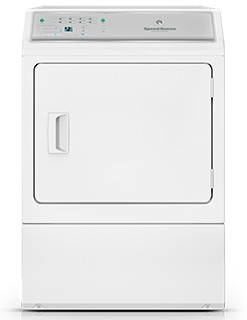 ADEE9BGS173TW01 Speed Queen 7.0 Cu. Ft. Electric Dryer with Front Commercial Grade Controls & 8 Cycles - White