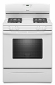 AGR5630BDW Amana 5.0 cu. ft. Gas Range with Easy Touch Electronic Controls - White