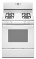 AGR5844VDW Amana 5.0 cu. ft. Self-Cleaning Gas Range with Sealed Burners - White