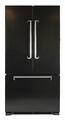 AMLFDR20BLK AGA Marvel Legacy Counter Depth French Door Refrigerator - Black