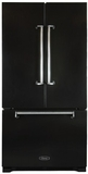 AMLFDR23BLK Aga Legacy 36� French Door Counter Depth Refrigerator with Customized Temperature Controls - Black